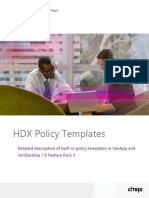 HDX Policy