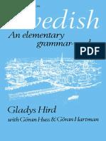 Swedish an Elementary Grammar- - Gladys Hird