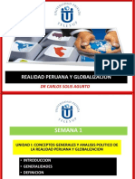 Realidad Peruana y Globalizacion PERU
