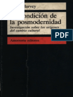 Harvey Condicion Postmoderna - 2parte