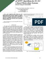 Chauhan Et Al. - 2013 - Comparison of MPPT Algorithms for DC-DC Converters