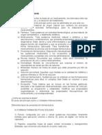 Posología - Guía de estudio previa