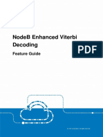 ZTE UMTS UR14 NodeB Enhanced Viterbi Decoding Feature Guide