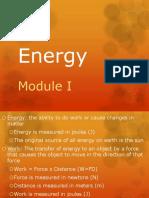 energy mod i notes