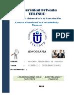 Comercio Internacional Monografia