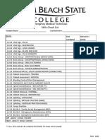 Emt Skill Sheets