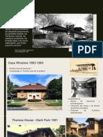 Frank Lloyd Wright- Las Casas de La Pradera