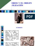 Los Sumerios y El Origen de La Civilización