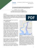 A Quantitative Evaluation of Wakatsu Port Training Levee By