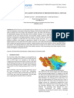 Hydrodynamic Flow and Salinity Intrustion in the Red River Delta, Vietnam