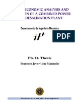 UCHE - Thermoeconomic Analysis and Simulation of a Combined Power and Desalination Plant