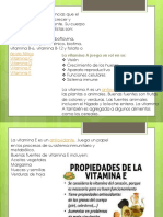Vitamin As lipidos y proteinas en resumen