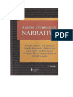 Análise Estrutural Da Narativa _ Roland Barthes