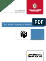 Guía Técnica Diagnóstico de Sistemas de Información