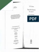 U3. a. Adorno - Retrospectiva Sobre El Surrealismo