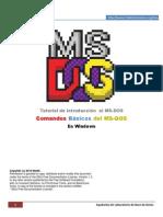 Introduccion Al MS-DOS