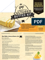 MM_Cultured Butter Kit Instructions
