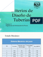 Criterios de Diseño de Tuberías Corre Mucho