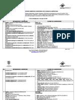 Laboratorios Acreditados Matriz Agua 31 de Marzo de 2015