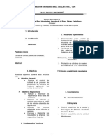 Informe Carta u