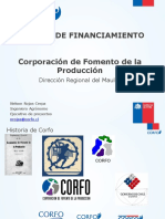 CORFO financiamiento 2016