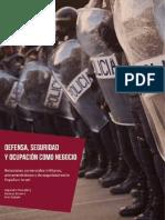 """informe  Delás  sobre las """"relaciones comerciales militares, armamentísticas y de seguridad"""" de España-Israel"""