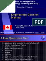01- EngineeringDecision