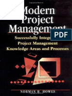Modern Project Management  Successfully Integrating Project Management Knowledge Areas and Processes by Norman R. Howes (Amacom, 2001).pdf
