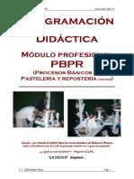 Programación Mód. PBPR 16 - 17.000