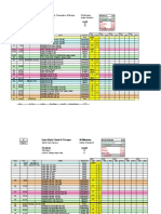 Cathe Gym Styles Spreadsheets