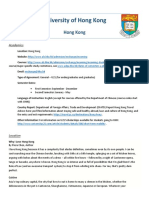 [REVISED2] Hong Kong - University of Hong Kong