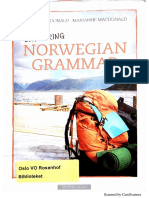exploring norwegian grammer