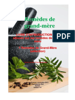 Remèdes de Grand-mère (Creapharma - Nov. 2013) (12 p.)