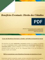 BENEFICOS EVENTUAIS