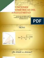 FUNCIONES TRIGONOMÉTRICAS DEL ÁNGULO MITAD.pptx