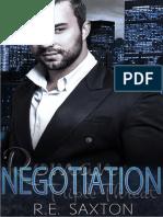 1 - Negotiation a Mafia Love Story - R. E. Saxton