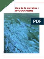 Le Joyau Bleu de La Spiruline - La Phycocyanine