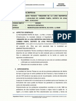 1.- Memoria Descriptiva Carmen Pampa