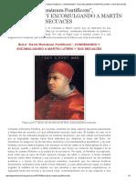 Iglesia_Luteranismo_Bula PíoX 'DECET ROMÁNUM PONTIFICEM'_CONDENANDO Y EXCOMULGANDO A MARTÍN LUTERO_3Enero1521.pdf