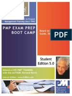 PMP Exam Preparation Boot Camp Participant Manual Free
