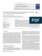 Accelerated Internationalization and Resource Leverage Str 2015 Journal of W