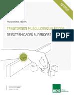 Manual de prevención de Trastornos Musculoequeléticos de Extremidad Superior