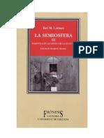 Lotman - Sobre el mecanismo semiótico de la cultura.pdf