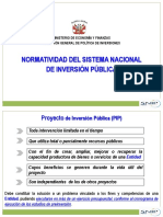 Normatividad SNIP r