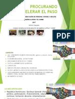 """PPT Informe CEAAL """"Procurando acelerar el paso"""""""