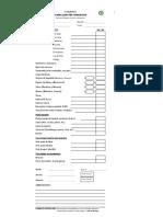 Formato de Inspeccion Pre-Operativa
