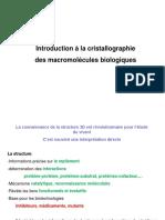 Cristalographie des macromolécules biologiques 11-11-2014.ppt
