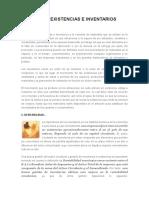 GESTIÓN DE EXISTENCIAS E INVENTARIOS