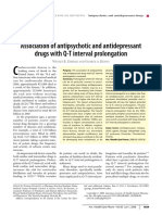 MEDSCAPE ACCOUNT QT--- Association of Antipsychotic and Antidepressant Drugs With Q-T Interval Prolongation