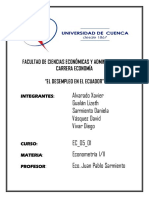 Desempleo en El Ecuador